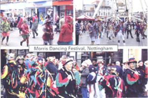 14 Morris Dancers