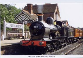 20 Earl of Berkeley at Sheffield Park station