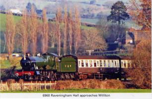 35 6960 Raveningham Hall approaches Wiliton