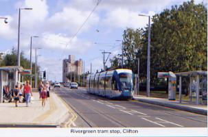 44. Rivergreen tram stop, Clifton