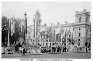8 Anti-war protest, Parliament Square