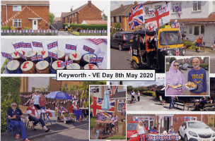Keyworth VE Day card 1