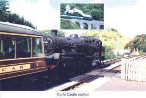 17 Corfe Castle station