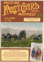Picture Postcard Monthly - July 2005