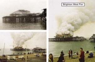 1.Brighton Pier Fire 2003