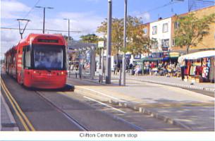 43. Clifton Centre tram stop