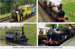 24 Golden Oldies at The Great Central Railway