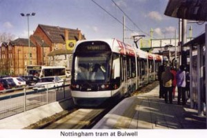 5 Tram at Bulwell