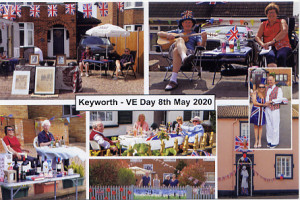 Keyworth VE Day card 2