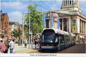 30 Tram at Nottingham Riviera