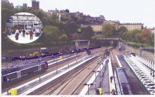 9 Edinburgh Waverley station