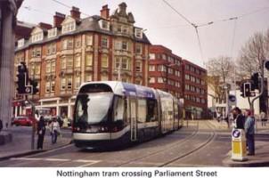 12 Tram crossing Parliament Street