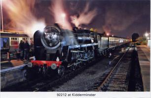 34 92212 at Kidderminster