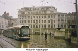 15 Nottingham in Winter