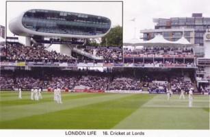 16 Cricket at Lords