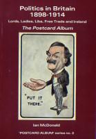 Politics in Britain on old postcards