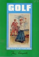 Golf on old picture postcards