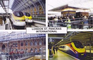 18 St. Pancras International.