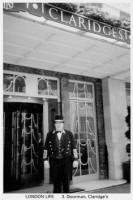 3 Doorman, Claridge's