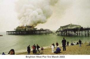 2.Brighton Pier Fire 2003