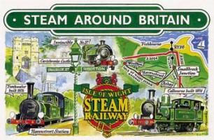 10 Isle of Wight Steam Railway