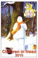 2010 Busking Snowman