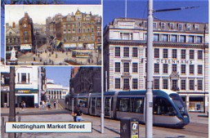 52. Tram approaching Market Square