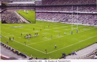 15 Rugby at  Twickenham