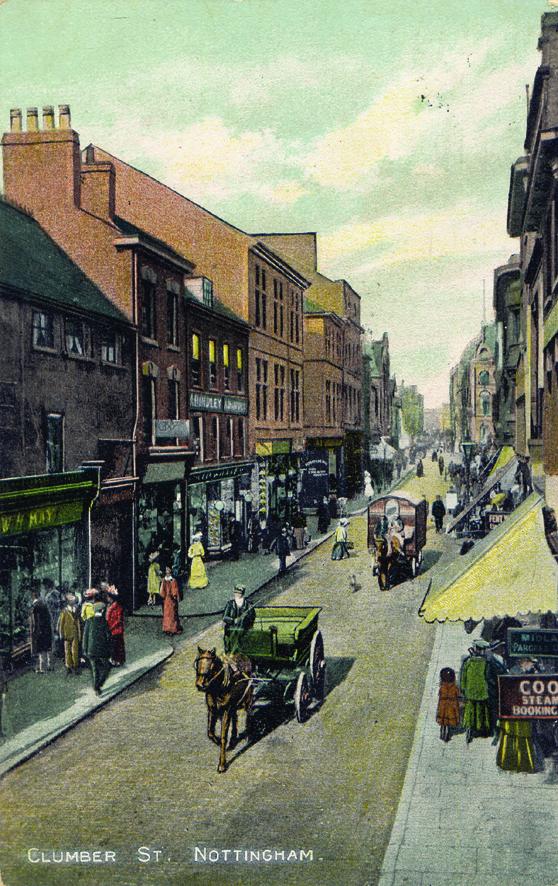 Clumber Street postcard