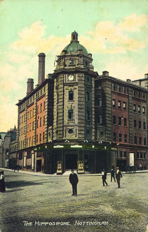 Hippodrome postcard