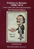 Politics in Britain on old postcards