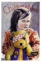 1997 Girl & Pudsey Bear Brian Partridge*