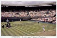 9 Agassi�s last win at Wimbledon