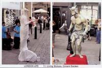 11 Living  Statues, Covent Garden