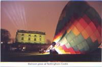 15 Balloon at Nottingham Castle
