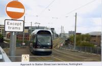 28 Tram approaching Station Street terminus