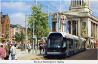 30 Tram at Nottingham Riviera