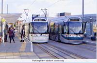 39. Nottingham station tram stop