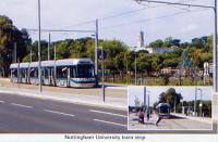 Nottingham University tram stop