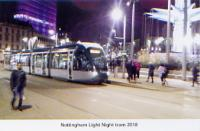 50. Light night tram