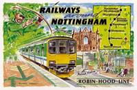 4a Robin Hood line - map extended to Worksop