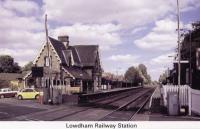 7 Lowdham station