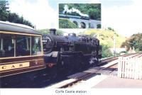 17 Corfe Castle station