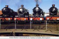 26 GWR locos at Tyseley