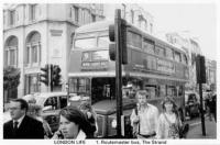1 Routemaster bus, The Strand