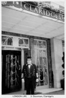 3 Doorman, Claridge�s