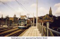 4 Tram approaching Station Street
