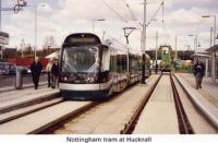 6 Tram at Hucknall