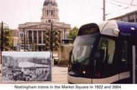 11 Trams in Market Square 1922/2004*