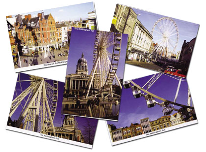 Reflections Postcards